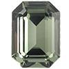 Swarovski  Fancy Rectangles 4600 10 x 05 mm Black Diamond