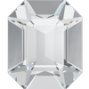 Swarovski 4600 Rectangle Octagon Fancy Stone Crystal GF 12x10mm