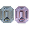 Swarovski 4600 Rectangle Octagon Fancy Stone Alexandrite 5x3mm