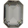 Swarovski 4610 Rectangle Octagon Fancy Stone Black Diamond (Unfoiled) 24x16mm