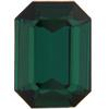 Swarovski 4610 Rectangle Octagon Fancy Stone Emerald (Gold Foil) 16x11mm