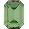 Swarovski 4610 Rectangle Octagon Fancy Stone Peridot 14x10mm