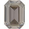 Swarovski 4610 Rectangle Octagon Fancy Stone Crystal Silver Shade 18x13mm