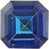 Swarovski 4671 Square Emerald-Cut Fancy Stone Crystal Bermuda Blue 6mm