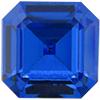 Swarovski 4671 Square Emerald-Cut Fancy Stone Sapphire 7mm