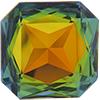 Swarovski 4675 Square Octagon Fancy Stone Crystal Sahara 23mm