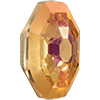 Swarovski 4678/G Solaris Fancy Stone, Partly Frosted Brandy 14mm