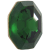 Swarovski 4678/G Solaris Fancy Stone, Partly Frosted Dark Moss Green 14mm