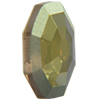 Swarovski 4678/G Solaris Fancy Stone, Partly Frosted Crystal Iridescent Green 14mm