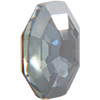 Swarovski 4678/G Solaris Fancy Stone, Partly Frosted Crystal Mystique 14mm