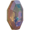 Swarovski 4678/G Solaris Fancy Stone, Partly Frosted Crystal Purple Haze 14mm