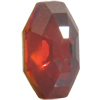 Swarovski 4678/G Solaris Fancy Stone, Partly Frosted Crystal Red Magma 14mm