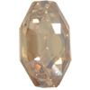 Swarovski 4678 Solaris Fancy Stone Crystal Golden Shadow 8mm