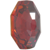 Swarovski 4678 Solaris Fancy Stone Crystal Red Magma 23mm