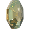 Swarovski 4678 Solaris Fancy Stone Crystal Verde 14mm