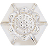 Swarovski 4681 Vision Hexagon Fancy Stone Crystal 14mm