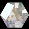 Swarovski 4699 Kaleidoscope Hexagon Fancy Stone Crystal AB 14x16mm