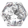 Swarovski 4699 Kaleidoscope Hexagon Fancy Stone Crystal 9.4x10.8mm