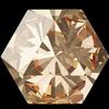 Swarovski 4699 Kaleidoscope Hexagon Fancy Stone Crystal Golden Shadow 9.4x10.8mm