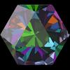 Swarovski 4699 Kaleidoscope Hexagon Fancy Stone Crystal Vitrail Medium 6x6.9mm