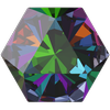 Swarovski 4699 Kaleidoscope Hexagon Fancy Stone Crystal Vitrail Medium 20x22.9mm