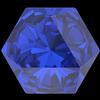 Swarovski 4699 Kaleidoscope Hexagon Fancy Stone Majestic Blue 14x16mm
