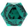 Swarovski 4699 Kaleidoscope Hexagon Fancy Stone Emerald 9.4x10.8mm