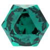 Swarovski 4699 Kaleidoscope Hexagon Fancy Stone Emerald 6x6.9mm