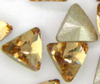 Swarovski 4706 Mini Triangles Fancy Stone Light Colorado Topaz 5mm