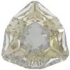 Swarovski 4706 Trilliant Fancy Stone Crystal Silver Shade 7mm
