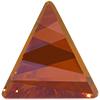 Swarovski 4717 Delta Fancy Stone Crystal Chili Pepper 15.5mm