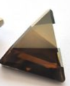 Swarovski 4717 Delta Fancy Stone Crystal Bronze Shade 15.5mm