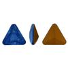 Swarovski 4722 Triangle Fancy Stone Sapphire Mystique 4mm