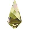 Swarovski 4731 Kite Fancy Stone Crystal Luminous Green 10x5mm