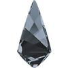 Swarovski 4731 Kite Fancy Stone Crystal Silver Night 10x5mm