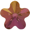 Swarovski 4744 Flower Fancy Stone Crystal Lilac Shadow 10mm