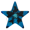Swarovski 4745 Star Fancy Stone Crystal Bermuda Blue 5mm