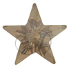 Swarovski 4745 Star Fancy Stone Crystal Golden Shadow 10mm