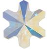 Swarovski 4747 Rivoli Sonwflake Fancy Stone Crystal AB 5mm