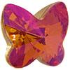 Swarovski 4748 Rivoli Butterfly Fancy Stone Crystal Astral Pink 10mm
