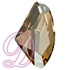 Swarovski 4756 Galactic Flat Fancy Stone Crystal Golden Shadow 19x11.5mm