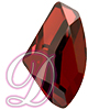 Swarovski 4756 Galactic Flat Fancy Stone Crystal Red Magma 19x11.5mm
