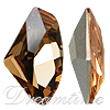 Swarovski 4757 Galactic Fancy Stone Light Colorado Topaz 19x11.5mm