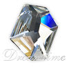 Swarovski 4759 Flat Back Cosmic Fancy Stone Crystal 28x24mm