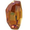 Swarovski 4760 Calypso Fancy Stone Crystal Copper 14x8mm