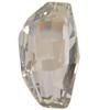 Swarovski 4760 Calypso Fancy Stone Crystal Silver Shade  22x12.5mm