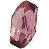 Swarovski 4773 Meteor Fancy Stone Crystal Antique Pink 28x15mm