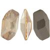 Swarovski 4773 Meteor Fancy Stone Crystal Golden Shadow 28x15mm