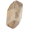 Swarovski 4773 Meteor Fancy Stone Crystal Golden Shadow 14x7.5mm
