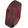 Swarovski 4773 Meteor Fancy Stone Crystal Red Magma 14x7.5mm